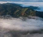 Toàn cảnh núi Đại Bình, một ngọn núi lớn và là điểm đứng ngắm toàn cảnh Bảo Lộc