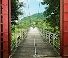 Khung cảnh thiên nhiên Madagui hiện lên thật yên bình.