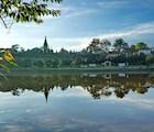 Nắng sớm hồ Xuân Hương