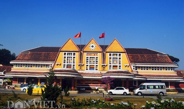 Ga Đà Lạt được coi là nhà ga xe lửa cổ nhất Đông Dương.