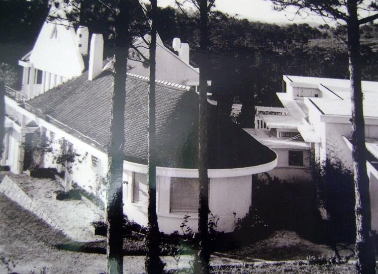 Biệt diện Trần Lệ Xuân. Ảnh tư liệu trước 1975