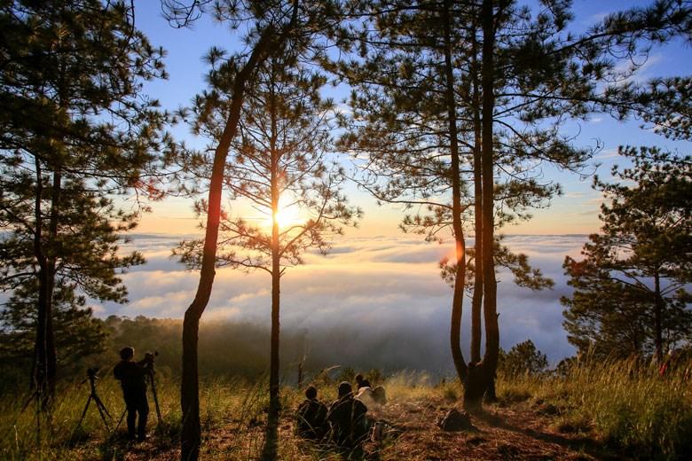 Bảo vệ lợi thế tự nhiên để xây dựng các tour du lịch đặc thù (Ảnh chụp trước ngày 27/4)