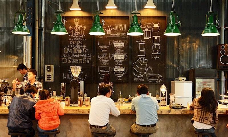 Quán cà phê của anh Trần Nhật Quang (200 Nguyễn Công Trứ, phường 2, TP Đà Lạt) nơi giới thiệu   sản